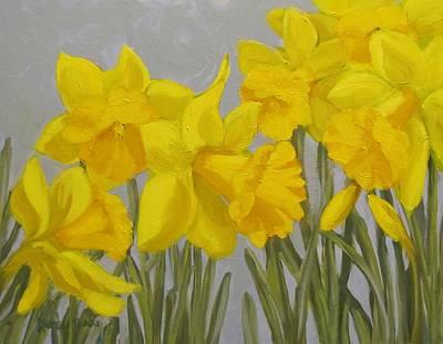 Spring Poster by Karen Ilari