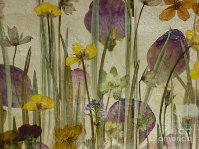 Spring Meadow No 1. Poster by Kaye Miller-Dewing