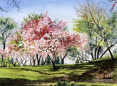 Spring Morning Poster by Barbara Jewell