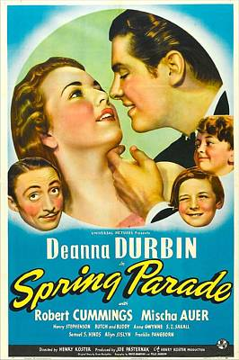 Spring Parade, Us Poster, From Left Poster by Everett