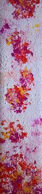 Spring Petals I Poster by Anna Villarreal Garbis