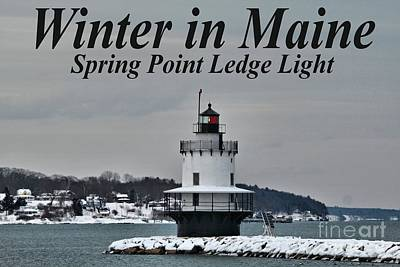 Spring Point Ledge Light_9969a Poster by Joseph Marquis