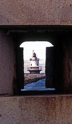 Spring Point Ledge Lightouse Poster