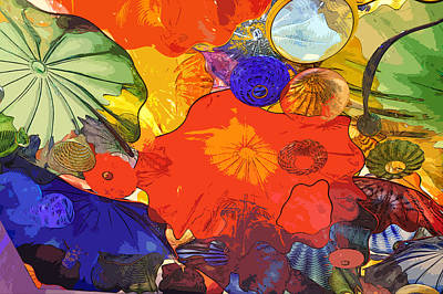 Poster featuring the digital art Spring Poppies by Kirt Tisdale