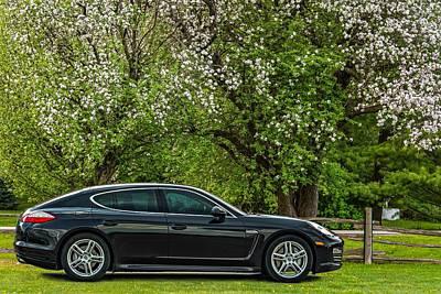 Spring Porsche Poster by Steve Harrington