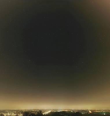 Spring Stars And Light Pollution Poster by Eckhard Slawik