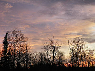 Spring Sun Sets Poster by Gene Cyr