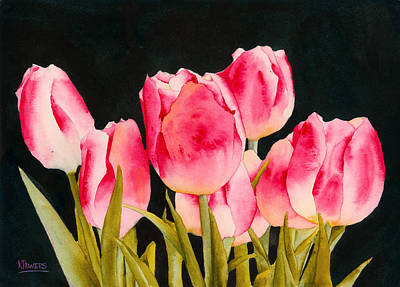 Spring Tulips Poster by Ken Powers