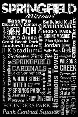 Springfield Poster by Ryan Burton