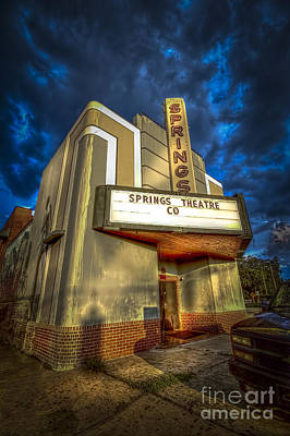 Springs Theater Co Poster by Marvin Spates