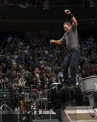 Springsteen In Motion Poster by Jeff Ross