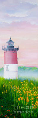 Springtime At Nauset Light Beach Poster by Michelle Wiarda