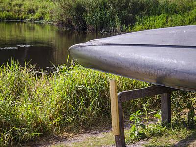 Springtime Canoe Poster by Carolyn Marshall