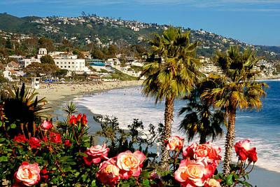 Springtime In Laguna Poster