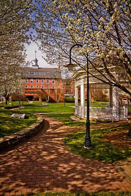 Springtime In Rotary Riverside Park Poster