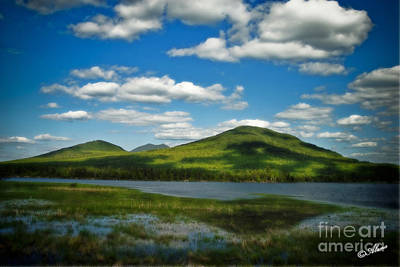 Poster featuring the photograph Springtime In The Bigelow Mountains by Alana Ranney