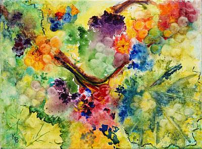 Poster featuring the painting Springtime by Karen Fleschler