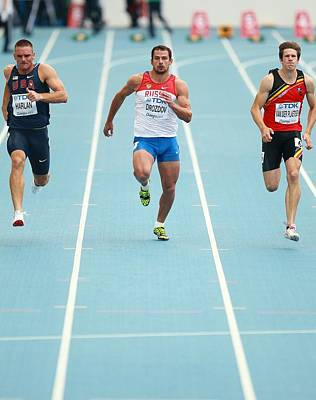 Sprinters Poster by Science Photo Library