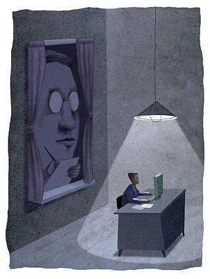 Spy Poster by Steve Dininno