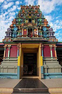 Sri Siva Subramaniya Hindu Temple Poster by Michael Runkel