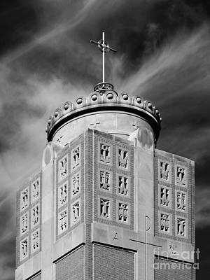 St. Ambrose University Christ The King Chapel Poster by University Icons
