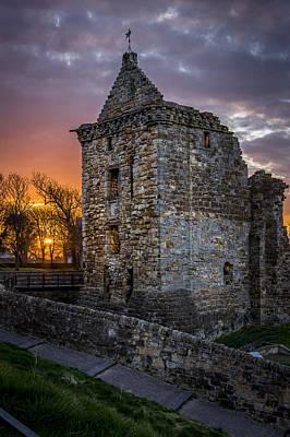 Scottish Castle Prints Poster by Alex Saunders