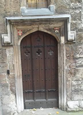 St. Andrew's Door Poster