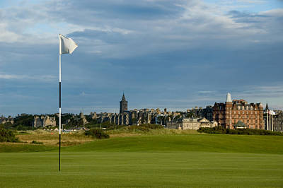 St Andrews Golf Poster