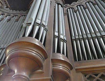 St Augustin Organ Poster