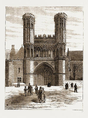 St. Augustines Gateway, Canterbury, Uk Poster by Litz Collection