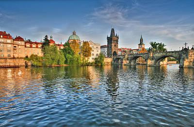 St Charles Bridge Prague Poster
