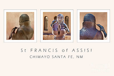 St Francis 360 Poster by Elena Nosyreva