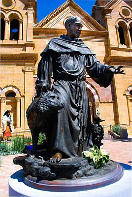 St Francis Of Assisi - Santa Fe Poster