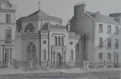 St Georges Chapel Edinburgh Poster by William Goldsmith