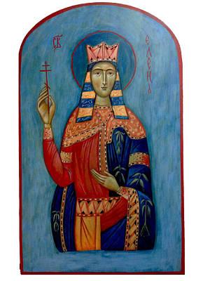 St. Helen Poster by Basia Mindewicz