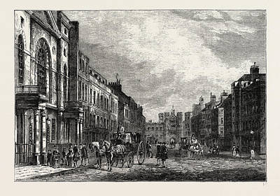 St. Jamess Street Tn 1750 Poster by Litz Collection