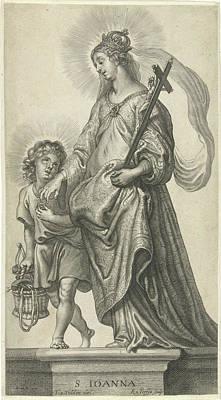 St. Joan Of Valois, Print Maker Reinier Van Persijn Poster