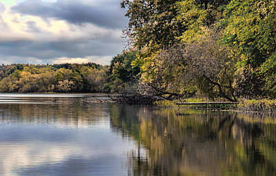 St Joe River 2 Poster by John Crothers