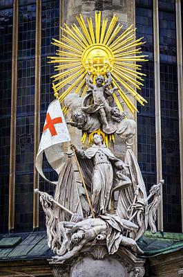 St. John Of Capistrano In Vienna Poster