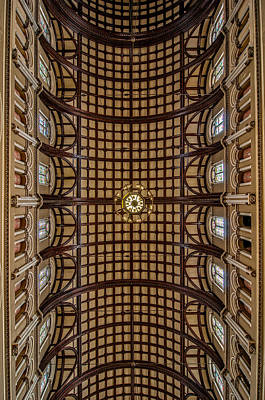 St. Joseph Church Ceiling Poster by Andy Crawford
