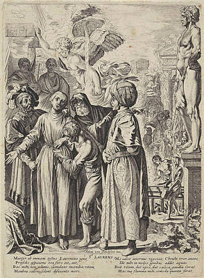 St. Lawrence, Pieter Claesz Poster by Pieter Claesz. Soutman