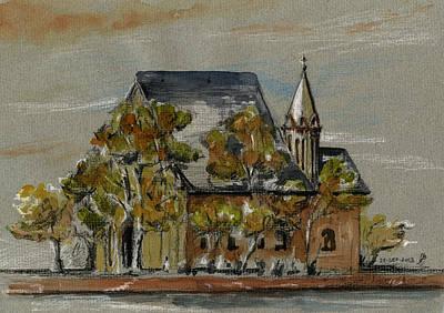 St Leonhardskirche Poster by Juan  Bosco