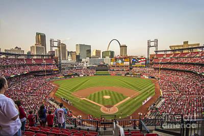 St. Louis Cardinals National Anthem Poster