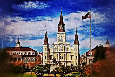 St. Louis Cathedral 2 Poster