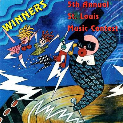 St Louis Music Contest Winners Poster by Genevieve Esson