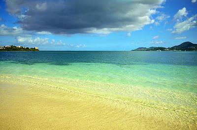 St. Maarten Tropical Paradise Poster