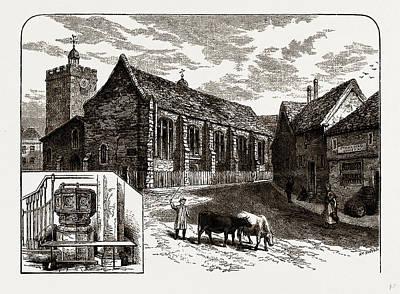 St. Margarets, Uxbridge, Uk Poster by Litz Collection
