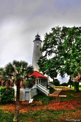 St. Marks Lighthouse  Poster by Debra Forand