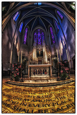 St Mary's 2 Poster by Kimberleigh Ladd