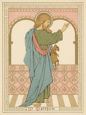 St Matthew Poster by English School